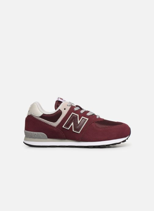 Trainers New Balance PC574 M Burgundy back view