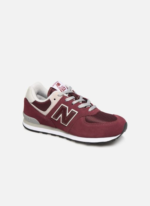 Trainers New Balance PC574 M Burgundy detailed view/ Pair view