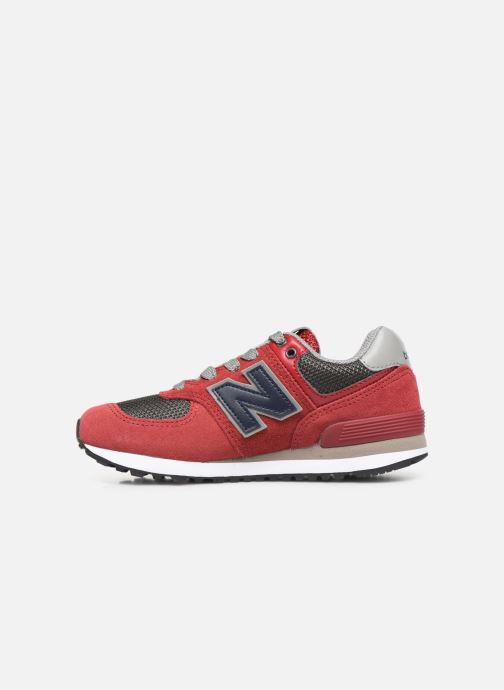 Sneakers New Balance PC574 M Rood voorkant