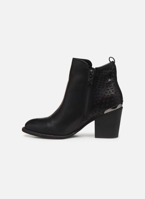 Boots en enkellaarsjes Xti 49447 Zwart voorkant