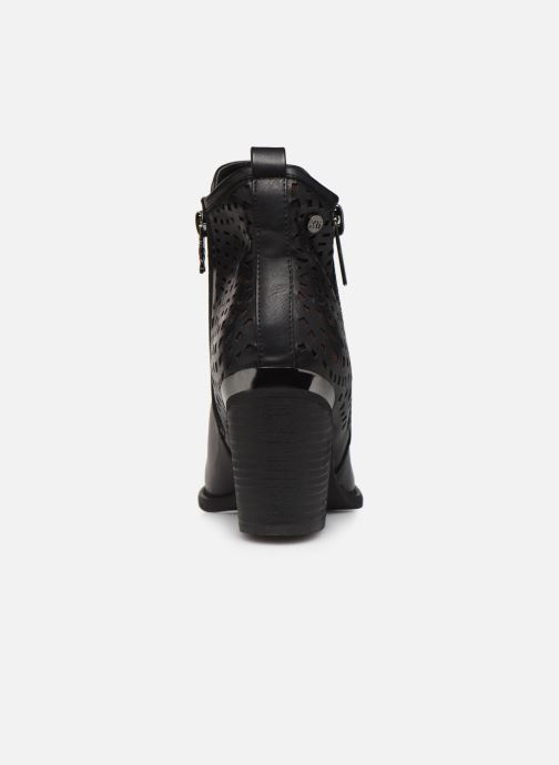 Boots en enkellaarsjes Xti 49447 Zwart rechts