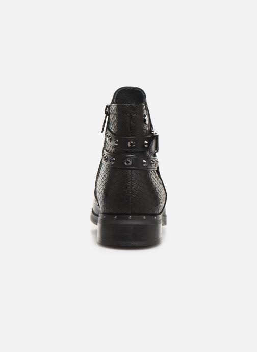 Boots en enkellaarsjes Xti 49329 Zwart rechts