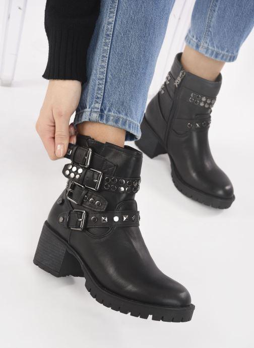 Bottines et boots Xti 49336 Noir vue bas / vue portée sac