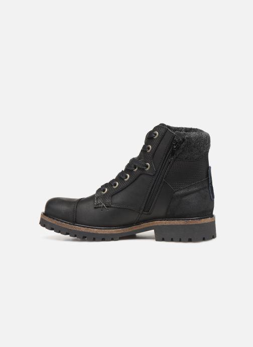 Boots en enkellaarsjes Bullboxer AHA518E6L Zwart voorkant