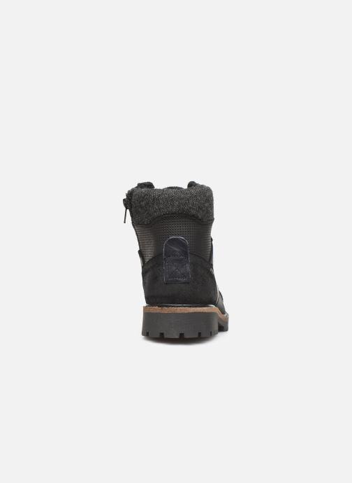 Boots en enkellaarsjes Bullboxer AHA518E6L Zwart rechts