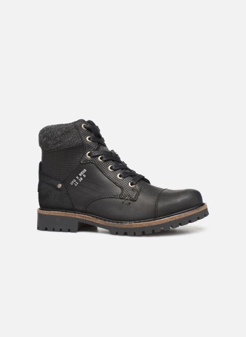 Boots en enkellaarsjes Bullboxer AHA518E6L Zwart achterkant