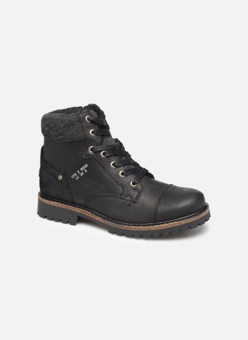 Boots en enkellaarsjes Bullboxer AHA518E6L Zwart detail