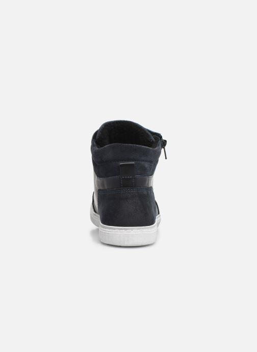 Sneaker Bullboxer AGM531E6L blau ansicht von rechts