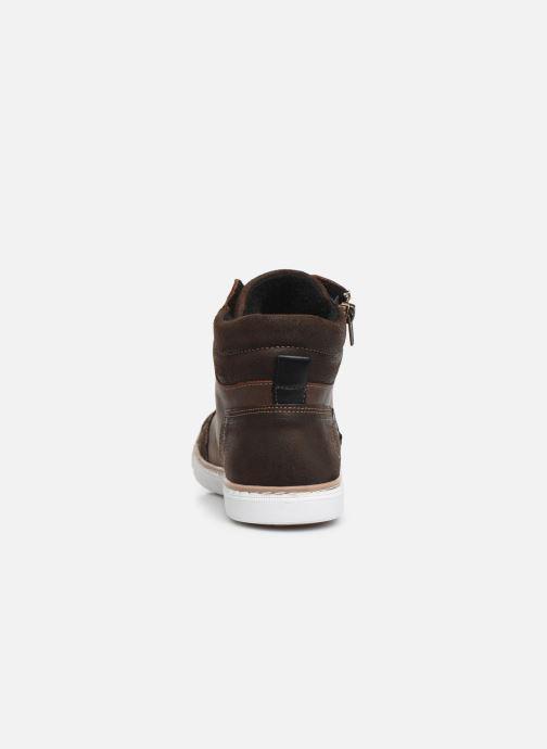 Sneaker Bullboxer AGM531E6L braun ansicht von rechts