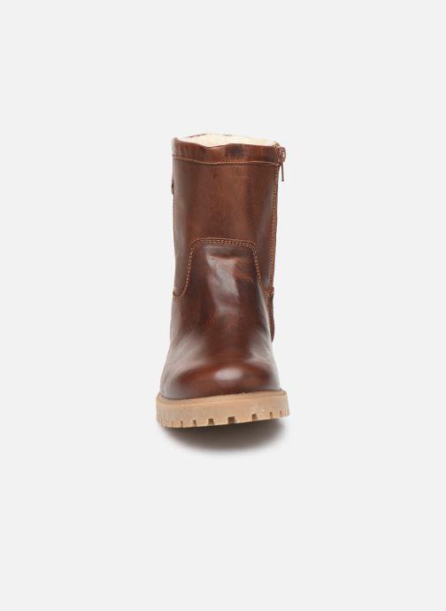 Stiefeletten & Boots Bullboxer ALL519E6L braun schuhe getragen