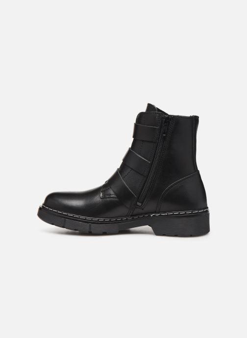 Boots en enkellaarsjes Bullboxer AHC520E6L Zwart voorkant