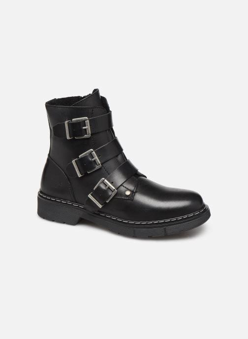 Boots en enkellaarsjes Bullboxer AHC520E6L Zwart detail