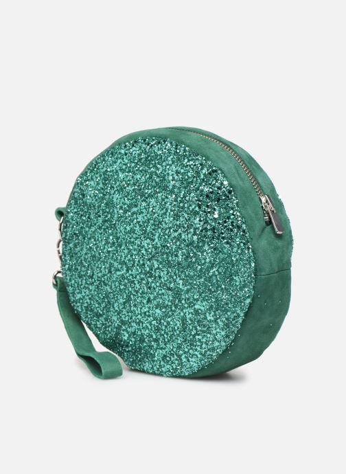 Sacs pochettes Made by SARENZA Made By Sarenza x Modetrotter pochette Vert vue portées chaussures