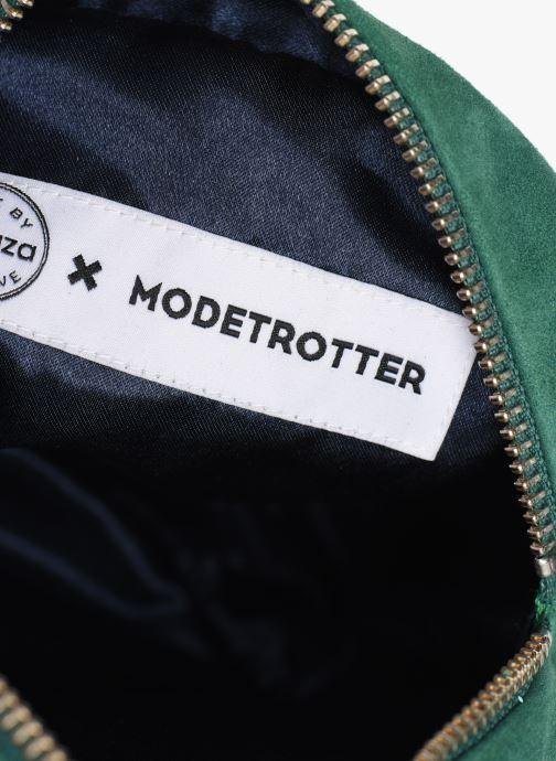Sacs pochettes Made by SARENZA Made By Sarenza x Modetrotter pochette Vert vue derrière