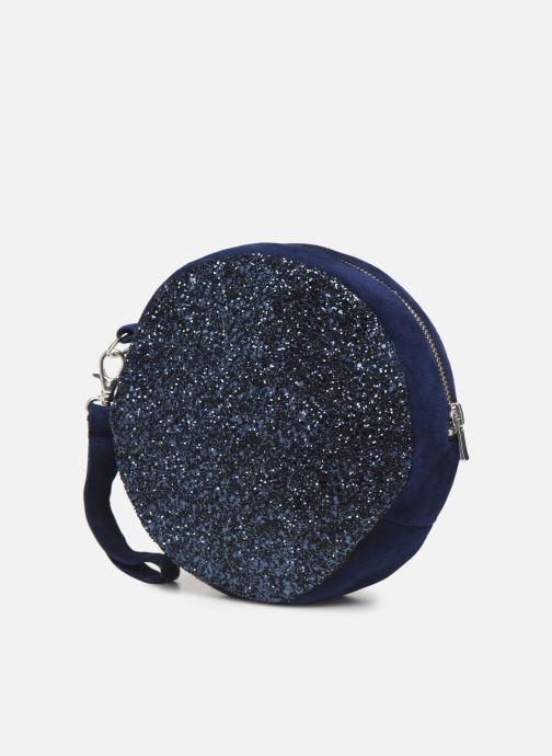 Sacs pochettes Made by SARENZA Made By Sarenza x Modetrotter pochette Bleu vue portées chaussures