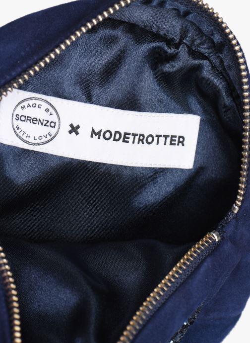 Sacs pochettes Made by SARENZA Made By Sarenza x Modetrotter pochette Bleu vue derrière