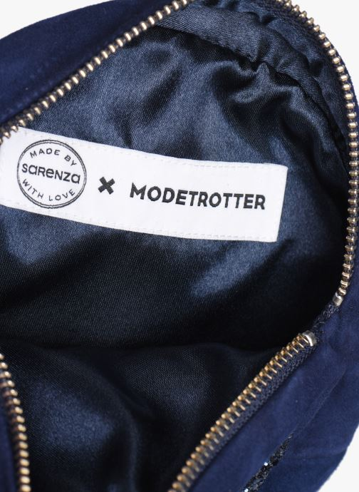 Clutch Made by SARENZA Made By Sarenza x Modetrotter pochette Blauw achterkant