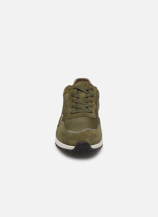 Baskets Clae Hayden Vert vue portées chaussures