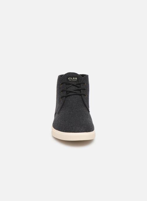 Sneaker Clae Strayhorn Textile schwarz schuhe getragen