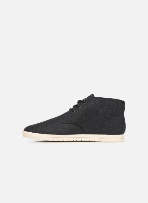 Sneaker Clae Strayhorn Textile schwarz ansicht von vorne
