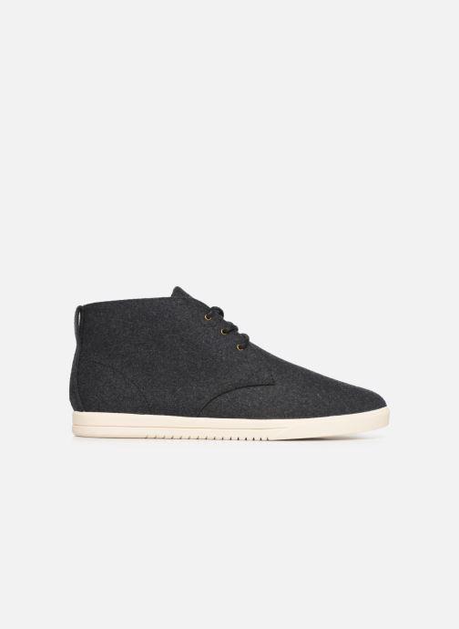 Sneaker Clae Strayhorn Textile schwarz ansicht von hinten
