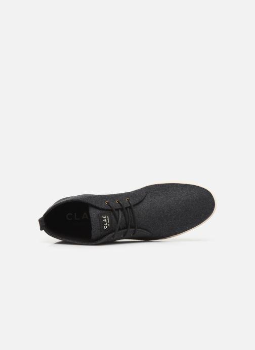 Sneaker Clae Strayhorn Textile schwarz ansicht von links
