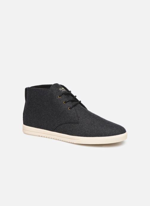 Sneaker Clae Strayhorn Textile schwarz detaillierte ansicht/modell