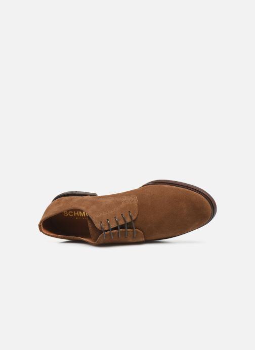 Chaussures à lacets Schmoove Bank Derby Suede Marron vue gauche