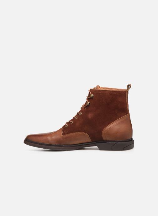 Bottines et boots Schmoove Bank Mid Spalato/Suede Marron vue face