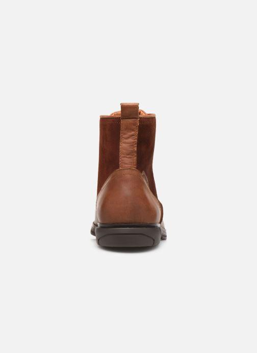 Bottines et boots Schmoove Bank Mid Spalato/Suede Marron vue droite