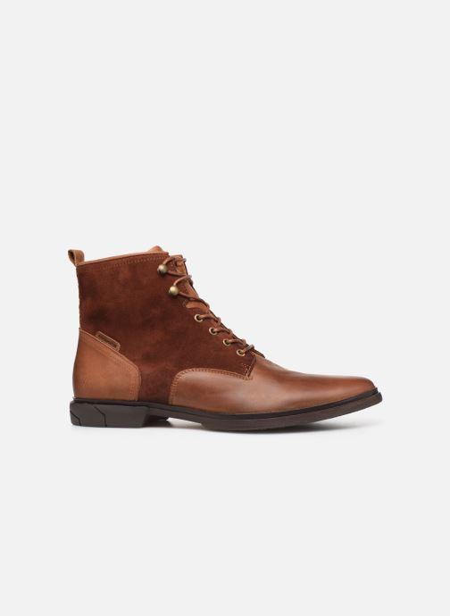Bottines et boots Schmoove Bank Mid Spalato/Suede Marron vue derrière