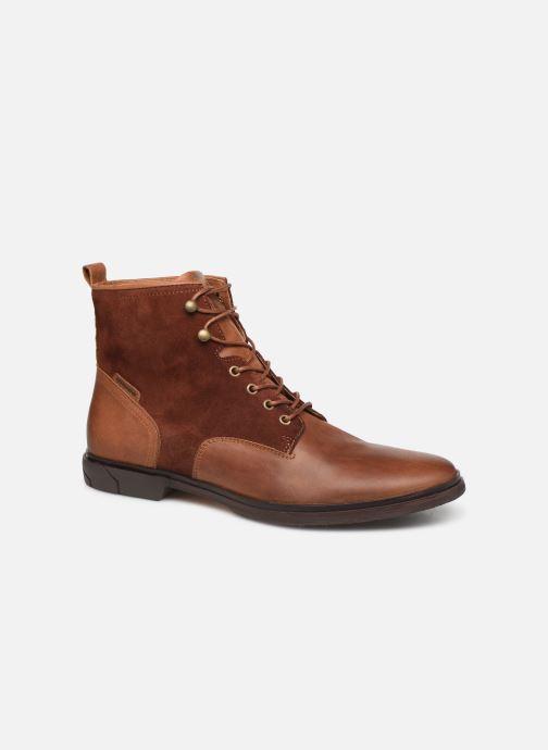 Bottines et boots Schmoove Bank Mid Spalato/Suede Marron vue détail/paire