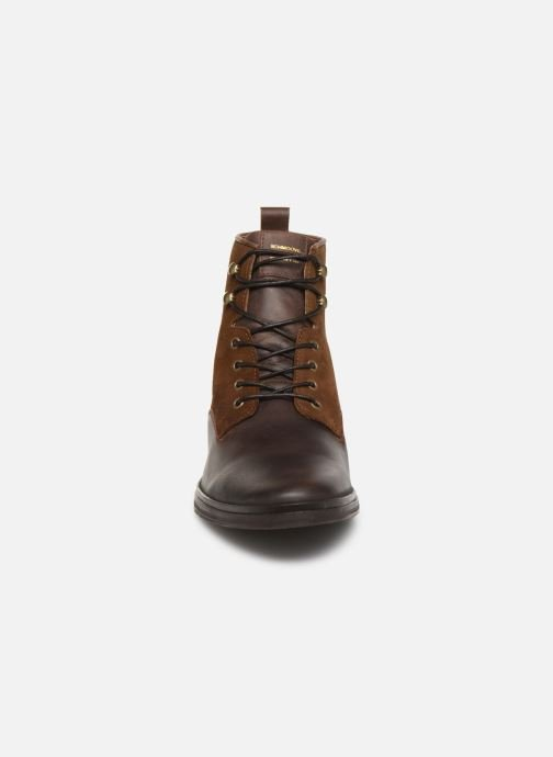 Ankle boots Schmoove Bank Mid Spalato/Suede Brown model view