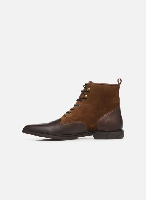Ankle boots Schmoove Bank Mid Spalato/Suede Brown front view