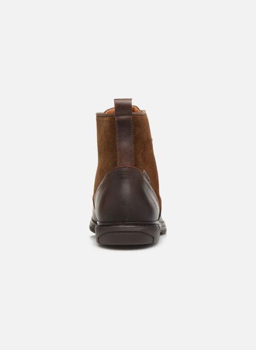 Ankle boots Schmoove Bank Mid Spalato/Suede Brown view from the right