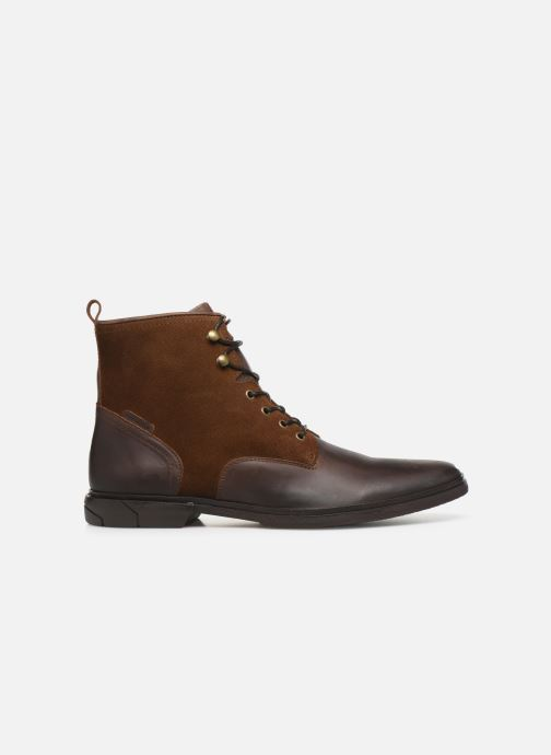 Ankle boots Schmoove Bank Mid Spalato/Suede Brown back view