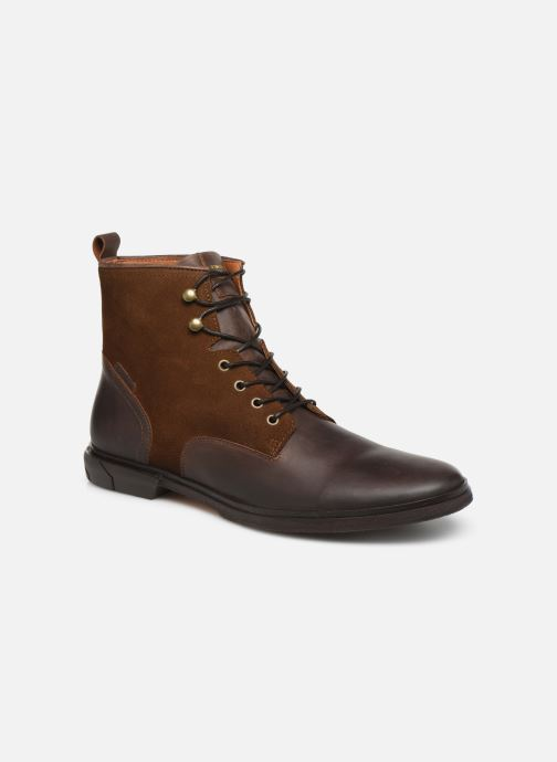 Ankle boots Schmoove Bank Mid Spalato/Suede Brown detailed view/ Pair view