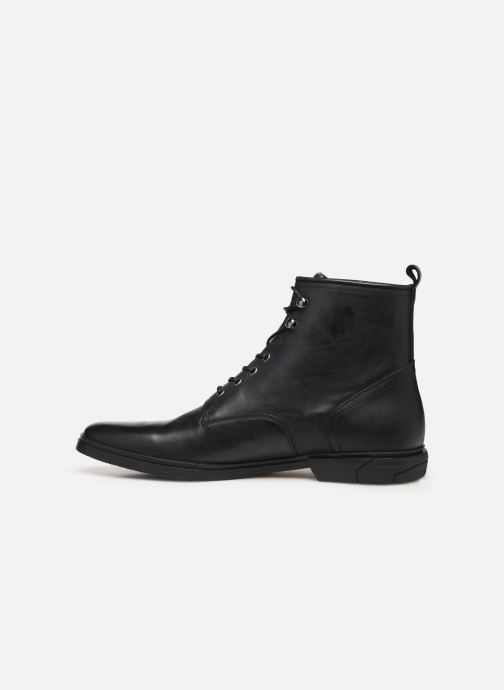 Bottines et boots Schmoove Bank Mid Spalato/Spalato Noir vue face