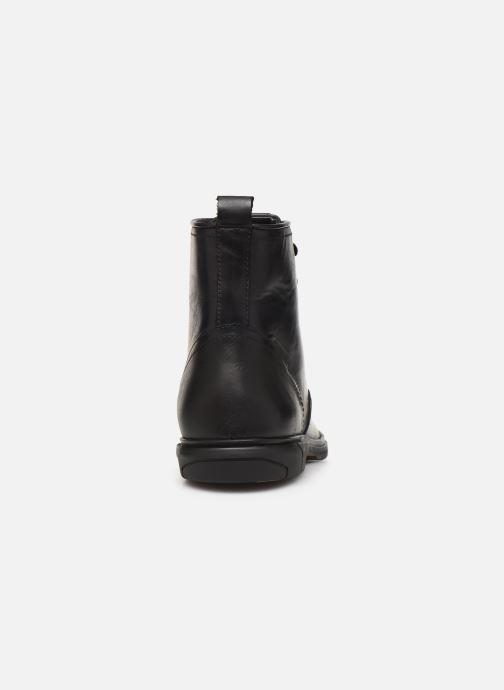 Bottines et boots Schmoove Bank Mid Spalato/Spalato Noir vue droite