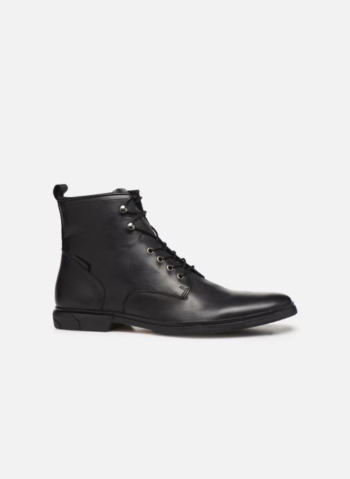 Bottines et boots Schmoove Bank Mid Spalato/Spalato Noir vue derrière