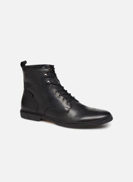 Bottines et boots Schmoove Bank Mid Spalato/Spalato Noir vue détail/paire