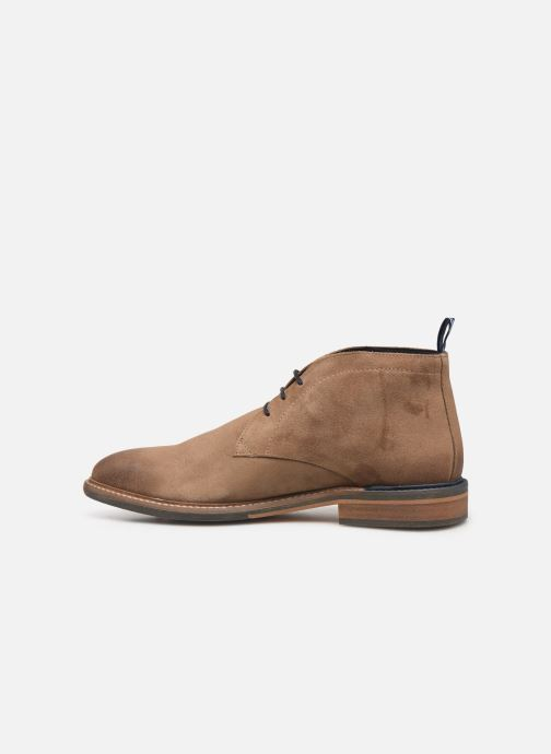 Ankle boots Schmoove Pilot Desert Suede Brown front view
