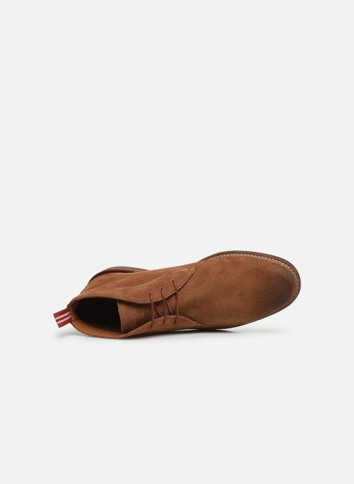 Boots en enkellaarsjes Schmoove Pilot Desert Suede Bruin links