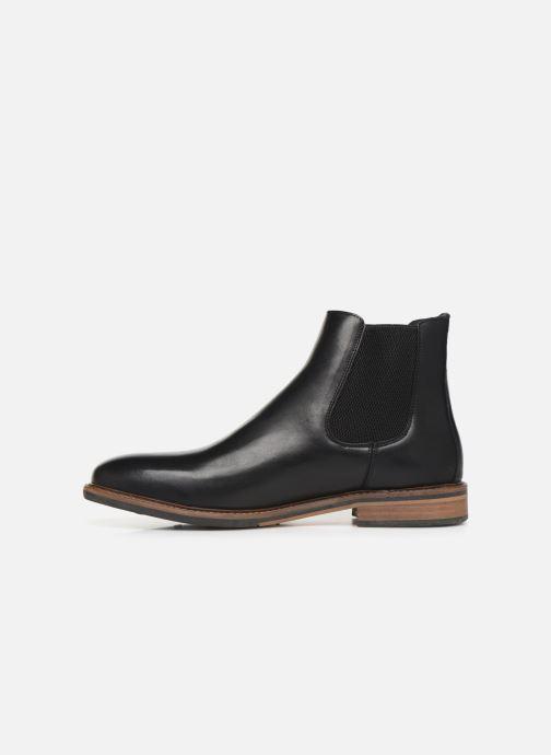 Bottines et boots Schmoove Pilot Chelsea Antik Noir vue face
