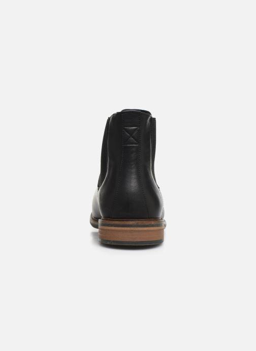 Bottines et boots Schmoove Pilot Chelsea Antik Noir vue droite