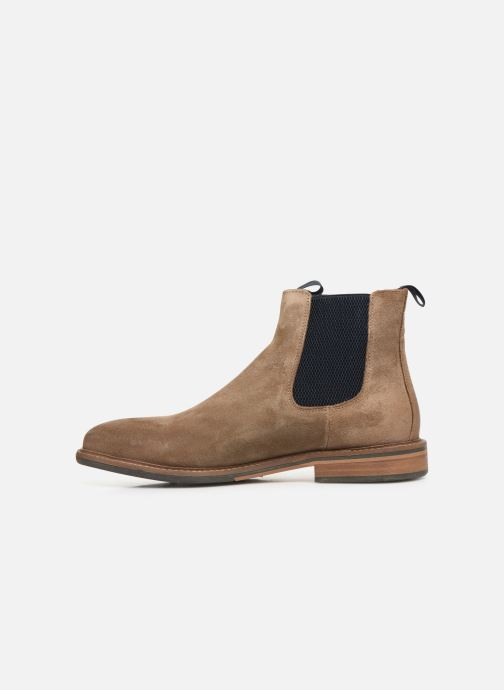 Ankle boots Schmoove Pilot Chelsea Suede Brown front view