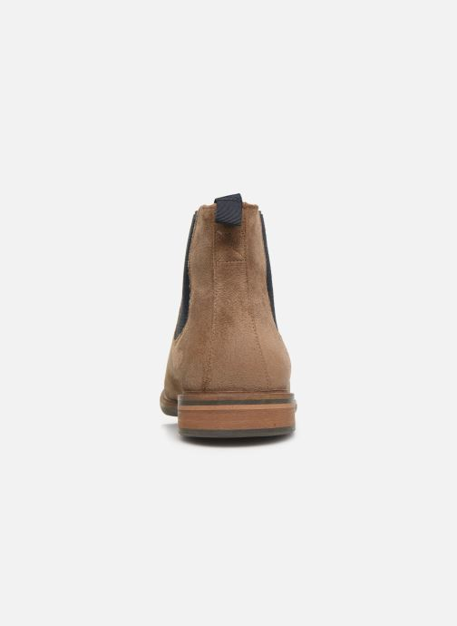 Ankle boots Schmoove Pilot Chelsea Suede Brown view from the right
