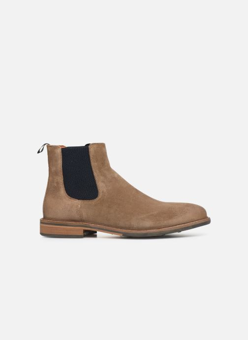 Ankle boots Schmoove Pilot Chelsea Suede Brown back view