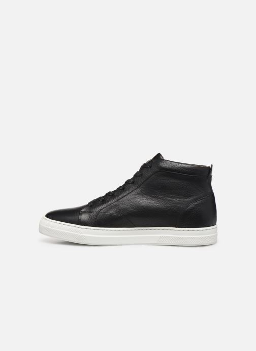 Sneakers Schmoove Spark Mid Shine Sort se forfra