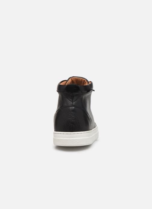 Trainers Schmoove Spark Mid Shine Black view from the right
